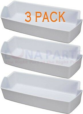 Replacement Shelf Bin Whirlpool Kenmore Refrigerator Door 2187172 3Pk  -