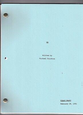 "ER show script ""Pilot"""