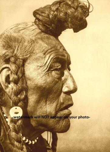Blackfoot Elder Bear Bull PHOTO Indian Native American Blackfeet 1927 Rain Chief