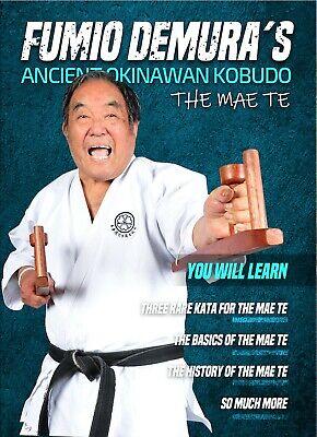 Fumio Demura Ancient Okinawan Kobudo Mae Te Weapon DVD karate tonfa nunchaku