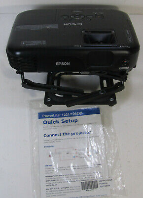 Epson PowerLite 1261W HD LCD Home Theater Projector H428A