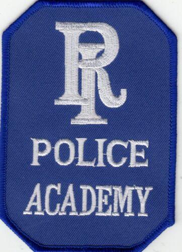 RHODE ISLAND POLICE ACADEMY SHOULDER PATCH RI
