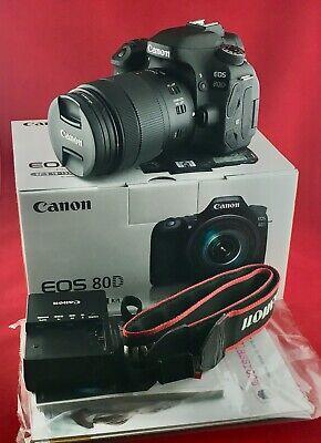 Canon EOS 80D 24.2 MP Digital SLR Camera - Black (with EF-S USM 18-135mm Lens)