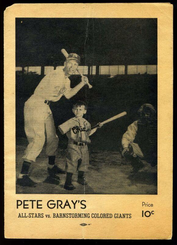 Original FRANK SINATRA signed Pete Gray