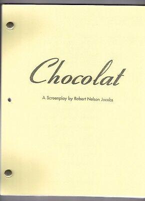 CHOCOLAT movie script