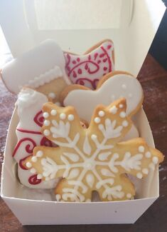 Christmas cookies, great for gifts!
