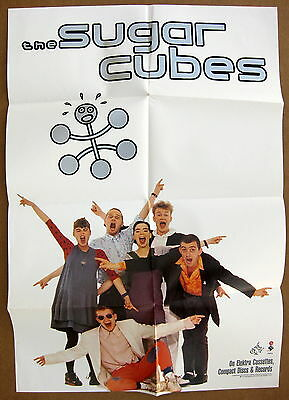 THE SUGARCUBES Here Today, Tomorrow Next Week! 1989 US Promo POSTER Minty! BJORK