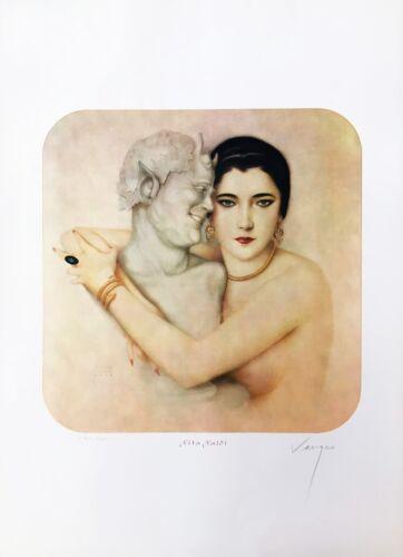 "Alberto Vargas ""nita Naldi"" 1979 | Rare Signed Print | Peruvian | Others Avail"