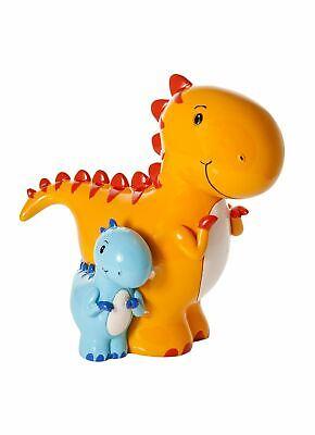 Mummy Baby Dinosaur Money Box Piggy Bank Coin Savings Kids Baby Toddler Boy Girl ()