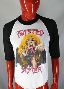 TWISTED-SISTER-VINTAGE-Stay-Hungry-1984-TOUR-Shirt-Size-LARGE-L