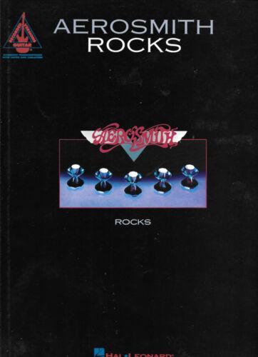 AEROSMITH, ROCKS, GUITAR TAB, GOOD CONDITION, OUT OF PRINT