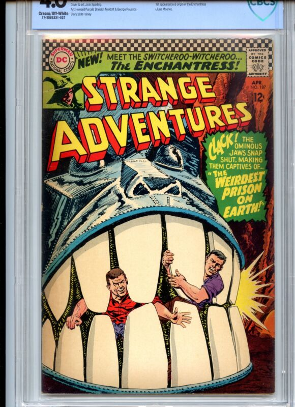 Strange Adventures #187 CBCS 4.0 Origin Enchantress