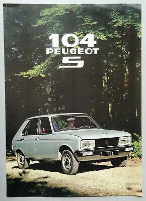 V09960 PEUGEOT 104S
