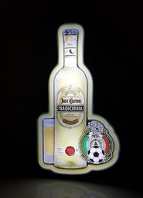 Jose Cuervo Tequila Sign Lighted Man Cave Bar Liquor Beer