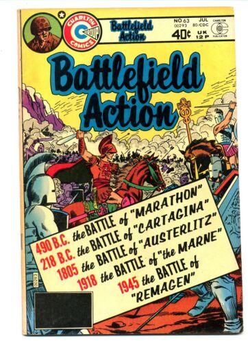 Battlefield Action #63    Charlton 1980