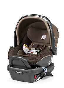 peg perego 2015 primo viaggio 4 35 infant car seat with base circles chocolate. Black Bedroom Furniture Sets. Home Design Ideas