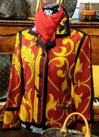 Jacket Woman Vintage 90's Versus Gianni Versace Tg.46/32 Circa M Made Italy - versace - ebay.it