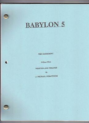 """BABYLON 5 show script """"2-Hour Pilot"""""""