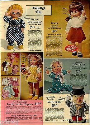 1973 PAPER AD 5 Pg Doll W C Fields Barbie Friend Ship Pool Camper Trailer Horse
