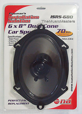 """1X ONE 5x7"""" or 6x8"""" inch Car Stereo Audio SPEAKERS Factory O"""