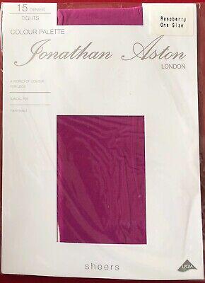 Gorgeous Shade Jonathan Aston Tights Pantyhose Raspberry One Size