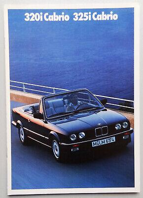 V09062 BMW SERIE 3 'E30' PHASE 1 320i & 325i