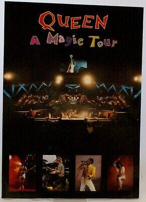 Queen Photo Book Vintage A Magic Tour 1987