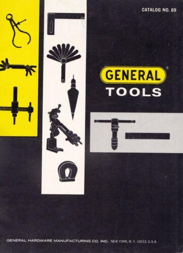 1968 General Tools Hardware Catalog No. 69