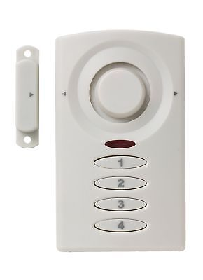 Keypad Entry Alarm - Mini Alarm MA4 Keypad Controlled Entry Alarm