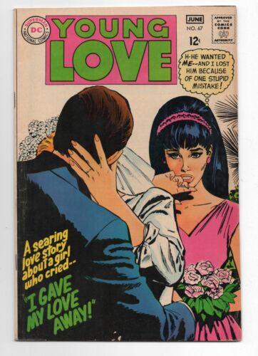DC COMICS  YOUNG LOVE  67  1968  MOD ROMANCE