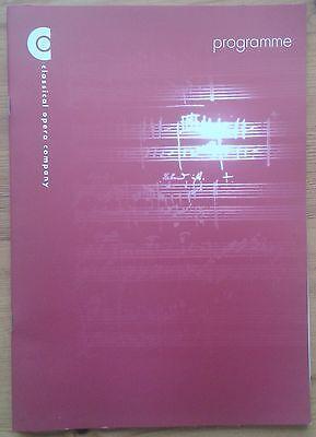 Classical Opera Company presents Mozart: Zaide programme 2010 Mark Le Brocq