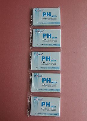 400 Strips1-14ph Indicator Test Paperchemistry Labware5 Bagslot