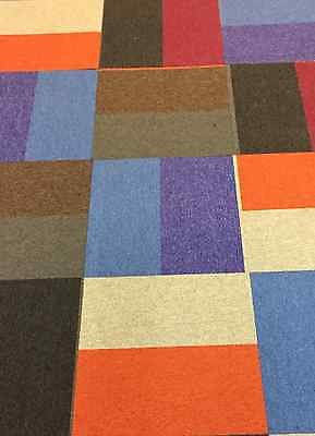 carpet tiles patch work very funky