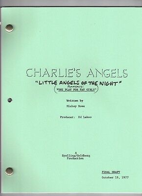 "CHARLIE'S ANGELS Show Script ""Little Angels of the Night"""