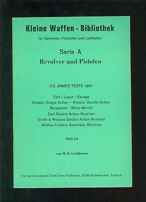 Revolver und Pistolen US Armee Tests 1907