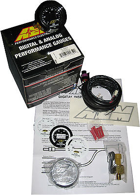 AEM 30-4401 DIGITAL OIL / FUEL PRESSURE Gauge 0-100PSI