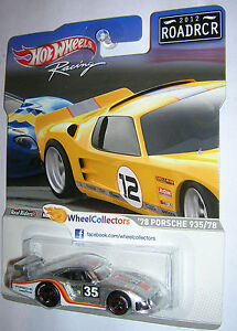 Racing-Road-Racers-Series-78-Porsche-935-78-2012-Hot-Wheels-F-Case-ROADRCR