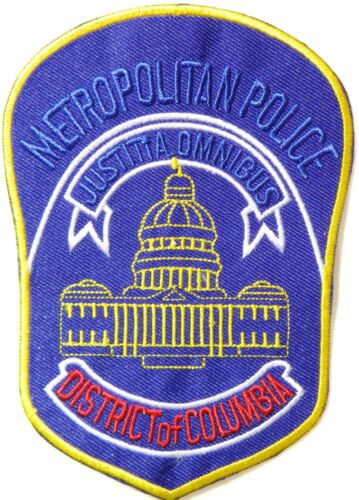 DISTRICT OF COLUMBIA METROPOLITAN POLICE STATE PATCH