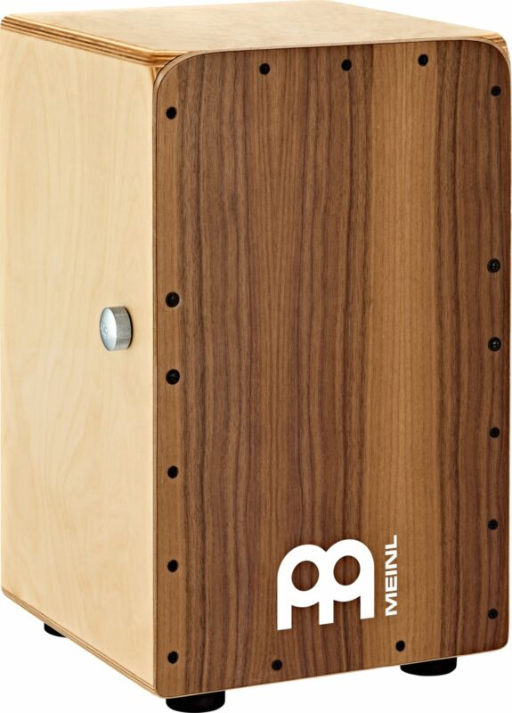 Meinl Cajon Drum Snarecraft Professional Professional  Birch / Walnut SCP100WN