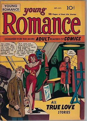 Young Romance #1 Photocopy Comic Book, Jack Kirby, Joe Simon