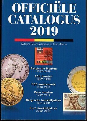 MORIN-CATALOGUS - UITGAVE 2019 - Belgische munten en bankbiljetten  - Nederlands