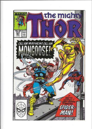 Thor 391 MARVEL 1988 1st Eric Masterson Thunderstrike FN - $1.00