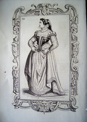 97-6-5 Gravure 1860 mode costume noble dame d'Orléans](Noble 6 Costume)