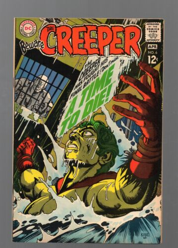 BEWARE, THE CREEPER 6        GIL KANE COVER         LOW PRICE!