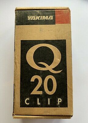 Yakima Q38 Q Tower Clips w// A Pads /& Vinyl Pads #0638 2 clips Q 38 NEW in box