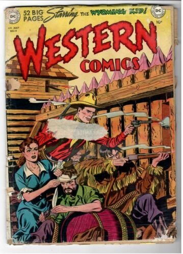 Western Comics #14 Fair