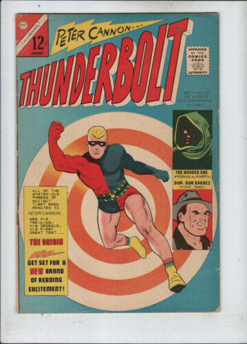 Thunderbolt #1 fine+ to f/vf