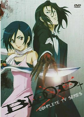 Blood+ (TV) Plus Complete Collection (Anime, DVD, 2007) New Sealed English!