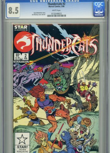 Thundercats 2 CGC 8.5 White Pages