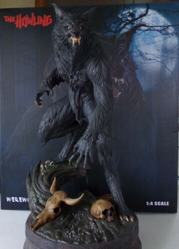 THE HOWLING STATUE-PCS STATUE-SIDESHOW STATUE-WEREWOLF STATUE-EXCUSIVE STATUE